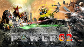 Power62® - The NextGen Strategic Hybrid Board Game board game