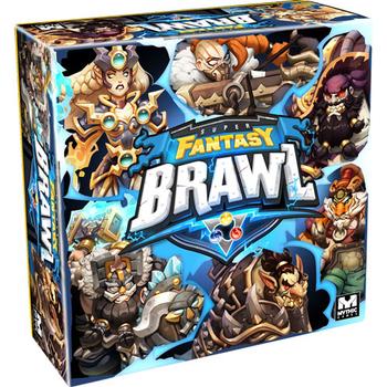 Super Fantasy Brawl board game