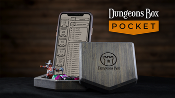 Dungeons Box POCKET - Companion for the Mobile Adventurer board game