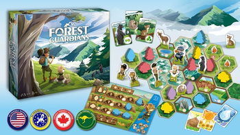 Forest Guardians: Safeguard The Wilderness board game