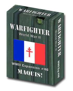 Warfighter: WWII Expansion 46 - Maquis board game