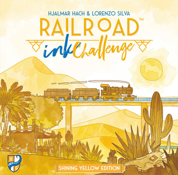 Railroad Ink Challenge: Shining Yellow Edition board game