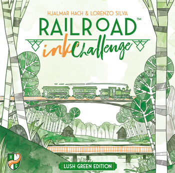 Railroad Ink Challenge: Lush Green Edition board game