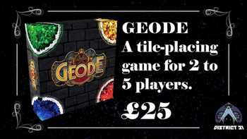 GEODE board game