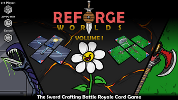 Reforge Worlds: Volume I - The Relaunch! board game