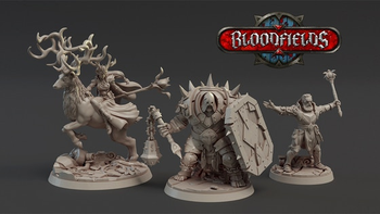 BLOODFIELDS : Complete 3D Printable Wargame board game