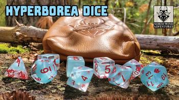 HYPERBOREA DICE board game