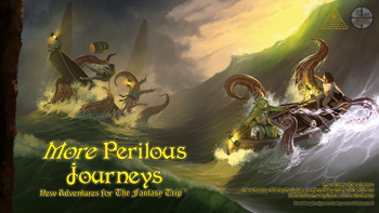 More Perilous Journeys board game