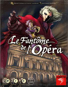 Le Fantôme de l'Opéra (Phantom of the Opera) board game