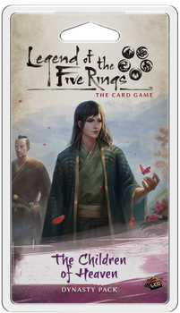 Legend of the Five Rings: The Card Game - The Children of Heaven board game