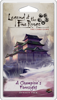 Legend of the Five Rings: The Card Game - A Champion's Foresight board game