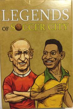 Legends of Soccer City board game