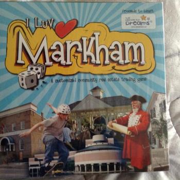 I luv Markham board game