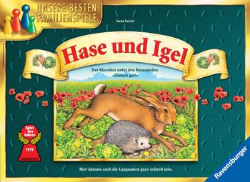 Hase und Igel (aka Hare and Tortoise) board game