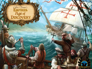 Glenn Drover's Empires: Age of Discovery - Deluxe Edition with Metal Coins board game