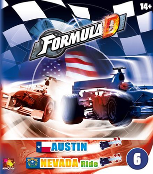 Formula D: Circuits 6 - Austin & Nevada Ride board game
