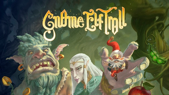 Gnome Elf Troll board game