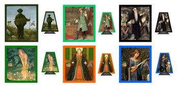 Fantastiqa: All 6 extra character sets board game