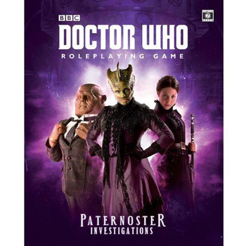 Doctor Who: The Card Game - Paternoster Investigations board game