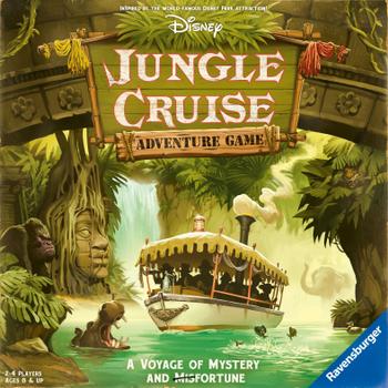 Disney Jungle Cruise Adventure Game board game
