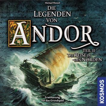 Die Legenden von Andor: Die Reise in den Norden board game