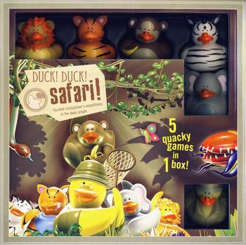 duck! duck! Go! Safari board game