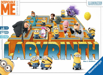 Despicable Me Labyrinth board game