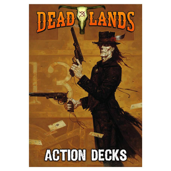 Deadlands 20th Anniversary Action Deck board game