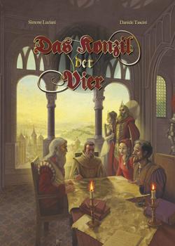 Das Konzil der Vier (aka Council of Four) board game