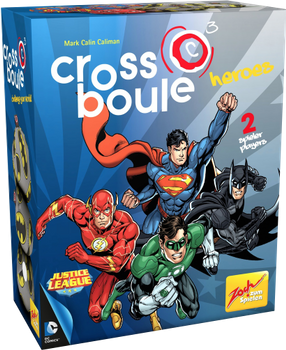 Crossboule: Heroes board game