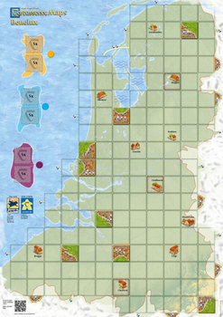 Carcassonne Maps: Benelux board game