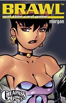 Brawl: Morgan board game