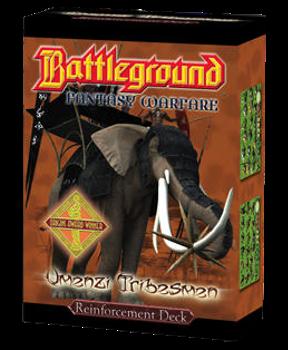 Battleground Fantasy Warfare: Umenzi Tribesmen (Reinforcement Deck) board game
