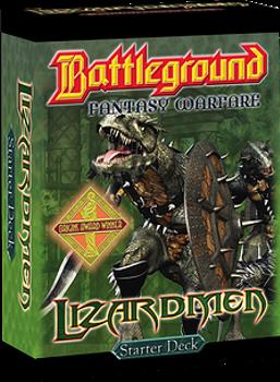 Battleground Fantasy Warfare: Lizardmen (Starter Deck) board game