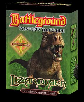 Battleground Fantasy Warfare: Lizardmen (Reinforcement Deck) board game