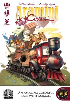 Aramini Circus (aka Yardmaster) board game