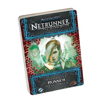 Android: Netrunner - Overdrive Runner Draft Pack board game