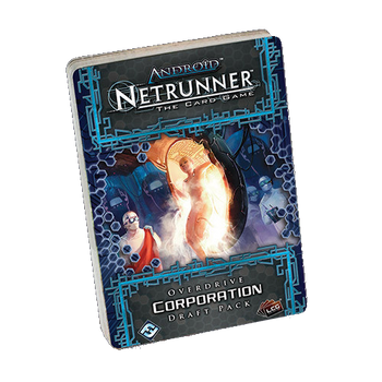 Android: Netrunner - Overdrive Corporation Draft Pack board game