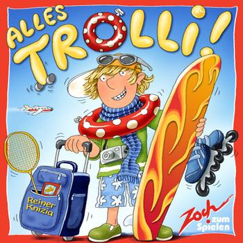 Alles Trolli! board game