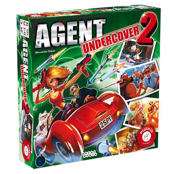 Agent Undercover 2 board game