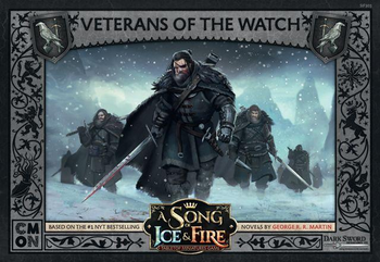 A Song of Ice & Fire: Tabletop Miniatures Game - Veterans of the Watch board game