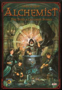 Alchemist - Fire Burn and Cauldron Bubble board game