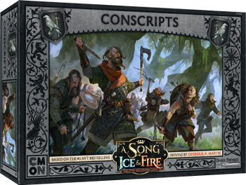 A Song of Ice & Fire: Tabletop Miniatures Game - Conscripts board game