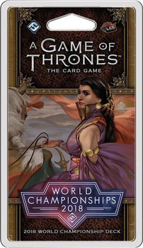 A Game of Thrones: The Card Game (Second Edition) - 2018 World Championship Deck board game