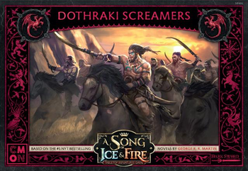 A Song of Ice & Fire: Tabletop Miniatures Game - Dothraki Screamers board game