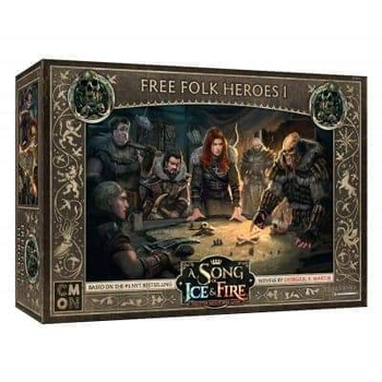 A Song of Ice & Fire: Tabletop Miniatures Game - Free Folk Heroes I board game