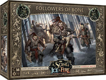 A Song of Ice & Fire: Tabletop Miniatures Game - Followers of Bone board game