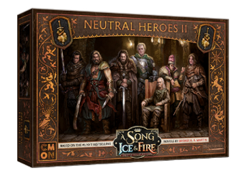A Song of Ice & Fire: Tabletop Miniatures Game - Neutral Heroes II board game