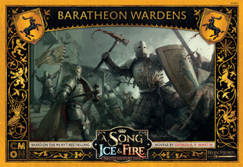 A Song of Ice & Fire: Tabletop Miniatures Game - Baratheon Wardens board game