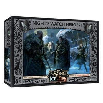 A Song of Ice & Fire: Tabletop Miniatures Game - Night's Watch Heroes I board game